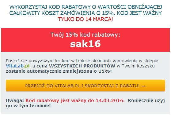 kod rabatowy 14 marzec2016
