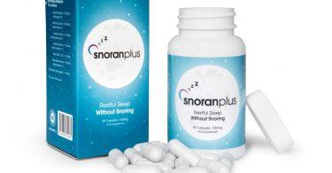 snoran plus skuteczny środek na chrapanie