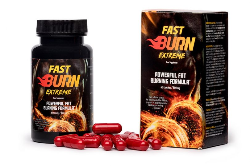 Fast Burn Extreme skuteczny spalacz tłuszczu