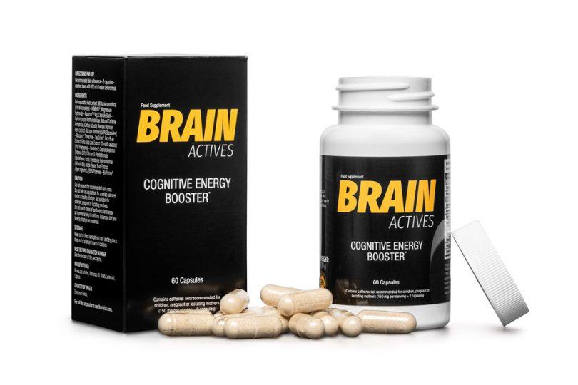 Brain Actives tabletki na koncentrację, pamięć i sprawność intelektualną