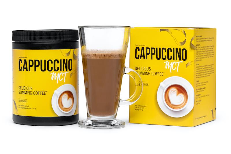 kawa na odchudzanie - cappuccino mct