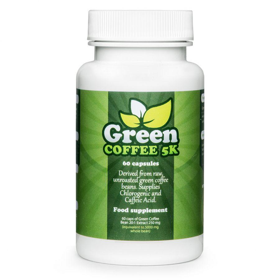 Green Coffee 5k Najlepsze Tabletki Z Zieloną Kawą